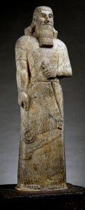 Standbeeld van Ashurnasirpal II. British Museum, Londen. Foto van Jononmac46.