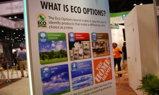 Home Depot has Eco Options - Charles & Hudson