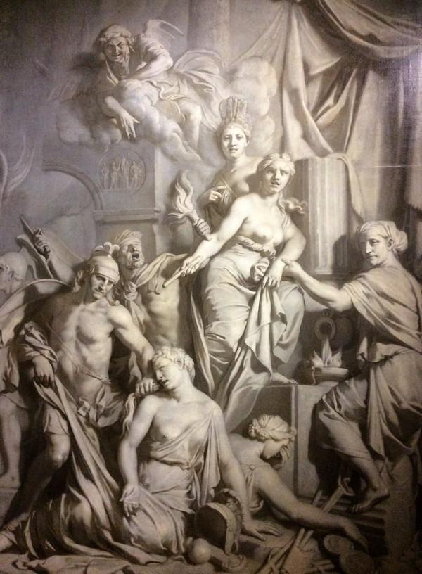 Gerard de Lairesse: De val van Rome
