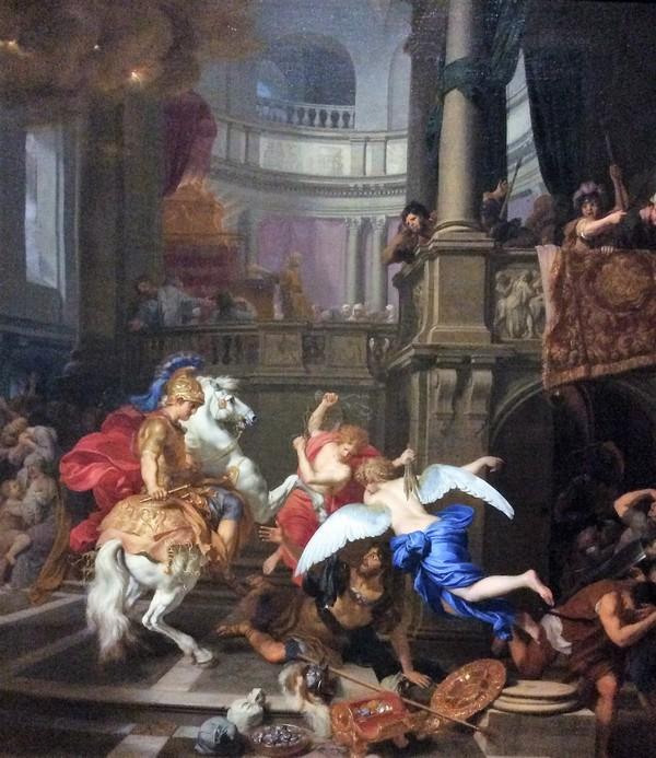 Gerard de Lairesse: De verdrijving van Heliodorus uit de Tempel
