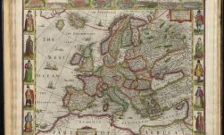 Europ, and the cheife cities contayned therin, described; with the habits of most kingdoms now in use - Norman B. Leventhal Map Center