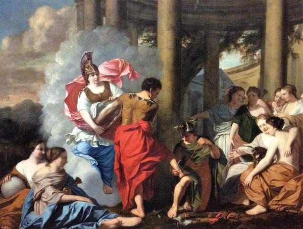 Gerard de Lairesse: Perseus maakt zich op voor de strijd tegen Medusa