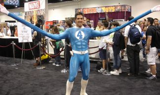 Comic-Con 2006 - Mr Fantastic - The Conmunity -  Pop Culture Geek