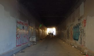 Tunnel To The Los Angeles River - joey  zanotti