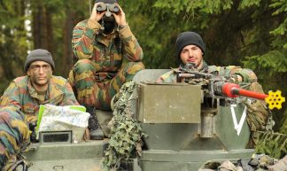 Belgian Army soldiers - 7th Army  Training Command