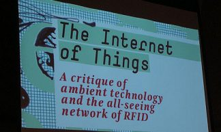 Booklaunch the Internet of Things - Institute of Network Cultures