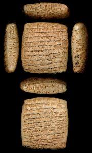 Kleitabletten uit Kanesh, een Assyrische handelspost in Cappadocië. Walters Art Museum, Baltimore.