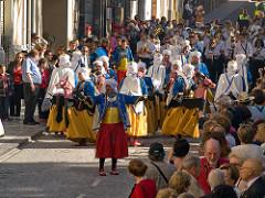 Moros y Christianos, Spanje