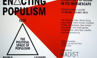 Enacting Populism - Marc Wathieu