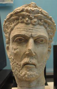 Buste uit Palmyra, mogelijk van Odaenathus. Palmyra Museum.