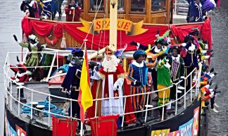 December 5th Sinterklaas in the Netherlands - Tom Jutte