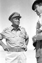 Moshe Dayan 1956 (Fotoarchief IDF)