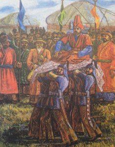 Turkse en Mongoolse volken kwamen op zogenaamde Kurultai's bijeen om de leiders van hun stammencoalities te kiezen. De Medische stammencoalitie kan ook op een dergelijke manier tot stand zijn gekomen. Bron: http://kazakhworld.com/election-khan-kurultai-kazakhkhanate/#prettyPhoto