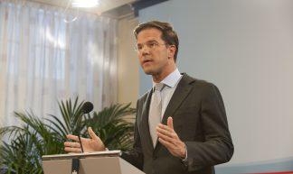 Persconferentie Rutte - Minister-president Rutte