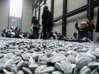 cc Flickr Loz Pycock photostream Sunflower Seeds by Ai Weiwei, Tate Modern Turbine Hall