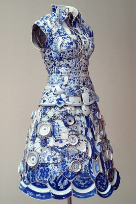 cc Flickr SWANclothing photostream Porcelain dress by Li Xiaofeng.