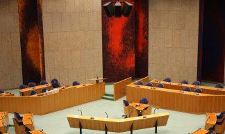 Grote plenaire vergaderzaal Tweede Kamer