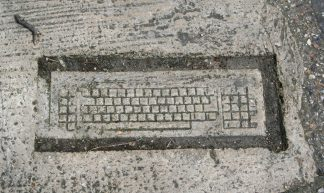 cement art! - Leo Reynolds