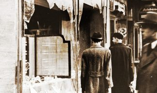Kristallnacht Aftermath - Mike Licht