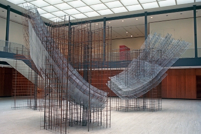 © Ann Reichlin Counterpoint 2010 Welded wire fabric, reinforcement rod, steel lath, wire