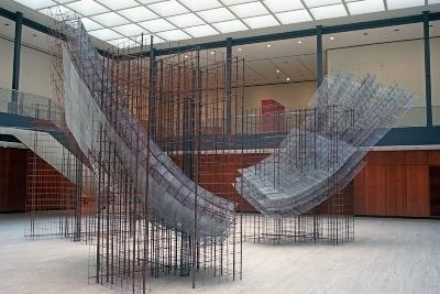 © Ann Reichlin Counterpoint 2010 Welded wire fabric, reinforcement rod, steel lath, wire