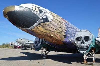 cc Flickr Alan Wilson photostream Douglas C-117D 'Phoenix in Metal' 17177