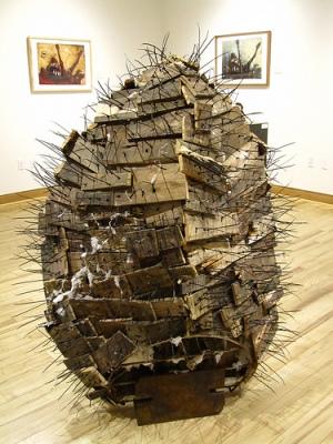 cc Flickr Ali Eminov photostream, Drift, Mixed media sculpture by Cody Spiegel
