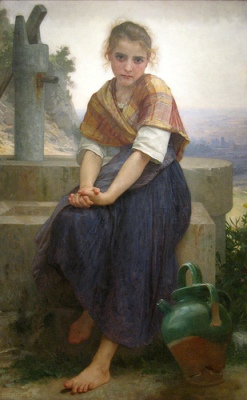cc Flickr HarshLight photostream Bouguereau: The Broken Pitcher