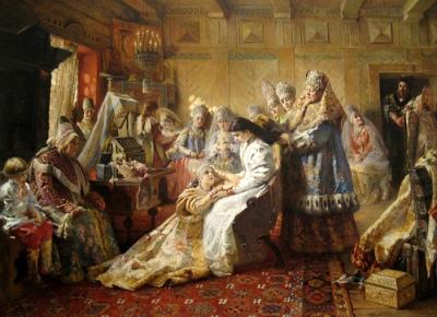 cc Flickr HarshLight photostream Makovsky The Russian Bride's Attire
