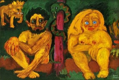 cc Flickr cea +photostream Emil Nolde - Verlorenes Paradies (Paradise Lost) (1921)
