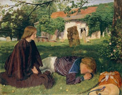 cc commons.wikimedia.org Arthur Hughes - Back from Sea.jpg