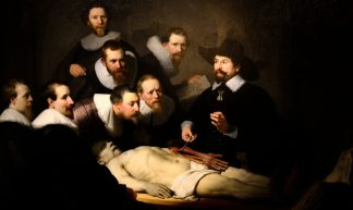 Rembrandt, The anatomy lesson of Dr. Nicolaes Tulp - Herman Pijpers