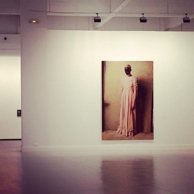 cc Flickr Liisa Maria photostream Amazing Michaël Borremans' exhibition.