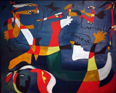 cc Flickr Mike Steele photostream Joan Miro Hirondelle amour (1933-34)