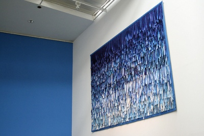cc Flickr giao911 photostream Documenta12 Abdoulaye Konaté Symphonie de bleu 8R Textil 2007