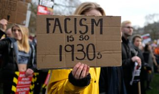 Fascism is so 1930s. - Alisdare Hickson