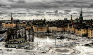 View of Stockholm. Sweden. Vista de Estocolmo. Suecia. - J. A. Alcaide