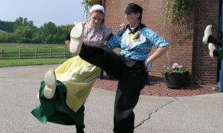 Dutch Folk Dancers - frank thompson photos