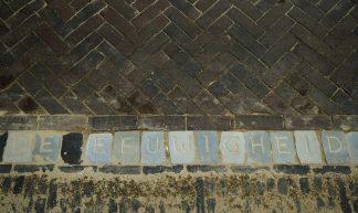 De Letters van Utrecht - peterned