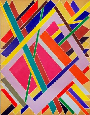 © Tate Modern. William T. Willimas, Trane, 1969. Studio museum in harlem new york usa © william t. williams courtesy of michael rosenfeld gallery llc new york ny
