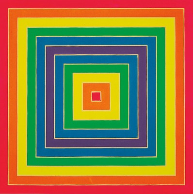 cc Flickr Gandalf's Gallery Frank Stella - Concentric Square 1966