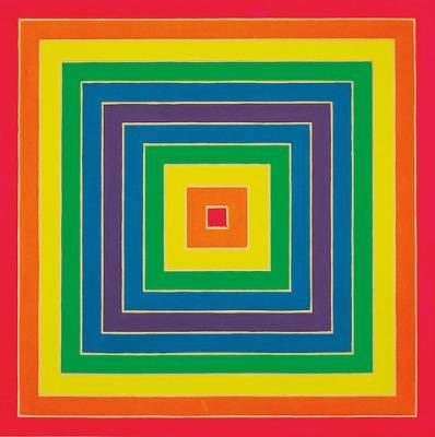 cc Flickr Gandalf's Gallery Frank Stella - Concentric Square 1966