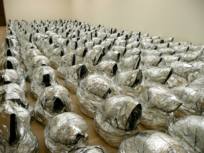 cc Flickr Herry Lawford New Art from the Middle East - Kader Attia - Ghost 2007