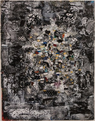 cc Flickr Sharon Mollerus photostream Jack Whitten, Mask of God I (For Joseph Campbell), 1987, Walker
