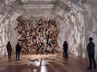 cc Flickr damian entwistle photostream Whitworth Gallery, Cold Dark Matter - Exploded View - CORNELIA PARKER (2)