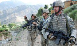 Amerikaanse soldaten in Afghanistan (foto Amerikaans Ministerie van Defensie)