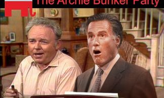 Republicans... The Party of Archie Bunker, Herbert Hoover, and Mitt Romney - EN2008