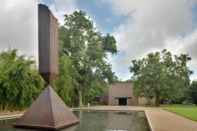 cc Flickr Ed Uthman Broken Obelisk by Barnett Newman, Outside of Rothko Chapel (HDR)