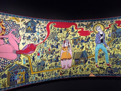 cc Flickr FaceMePLS Grayson Perry - The Walthamstow Tapestry