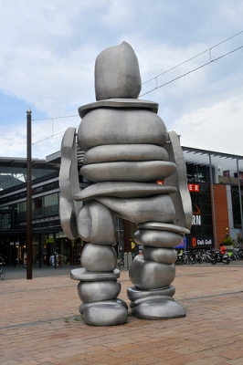 cc Flickr FaceMePLS photostream Kunst Burg. van Stamplein Hoofddorp
